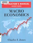 Macro Economics: Instructors Manual