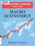 Macro Economics: Instructors Manual by Anthony Laramie and Garett Jones