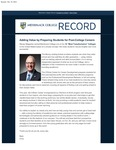 Merrimack College Record by Merrimack College
