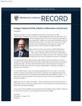 Merrimack College Record