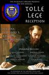 2016 Tolle Lege Reception Poster by Kevin Salemme